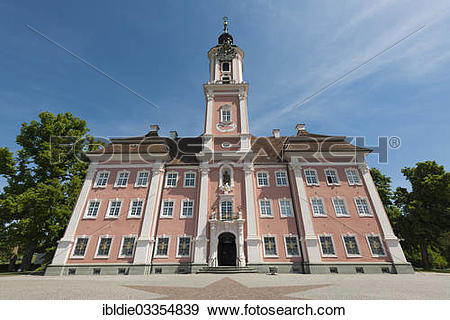 "Stock Photograph of ""Baroque abbey church, Pilgrimage Church of."