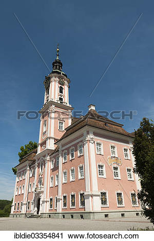 "Stock Photography of ""Baroque abbey church, Pilgrimage Church of."