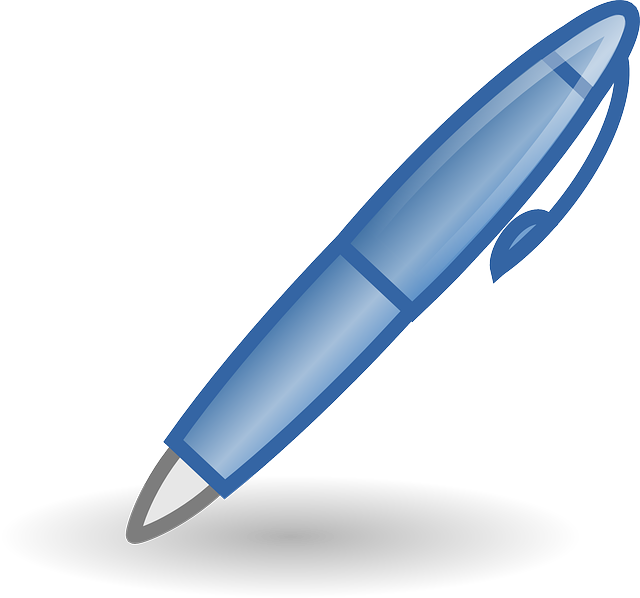 Free vector graphic: Pen, Biro, Writing, Ballpoint Pen.