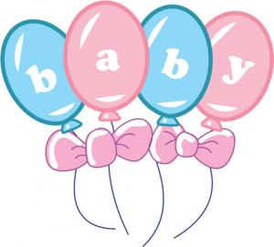 Clipart birth announcement.