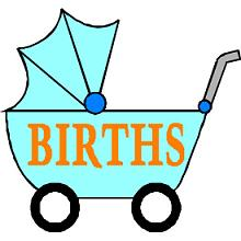 Free Baby Announcement Clipart.