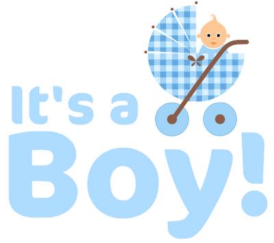 Birth announcement clipart.