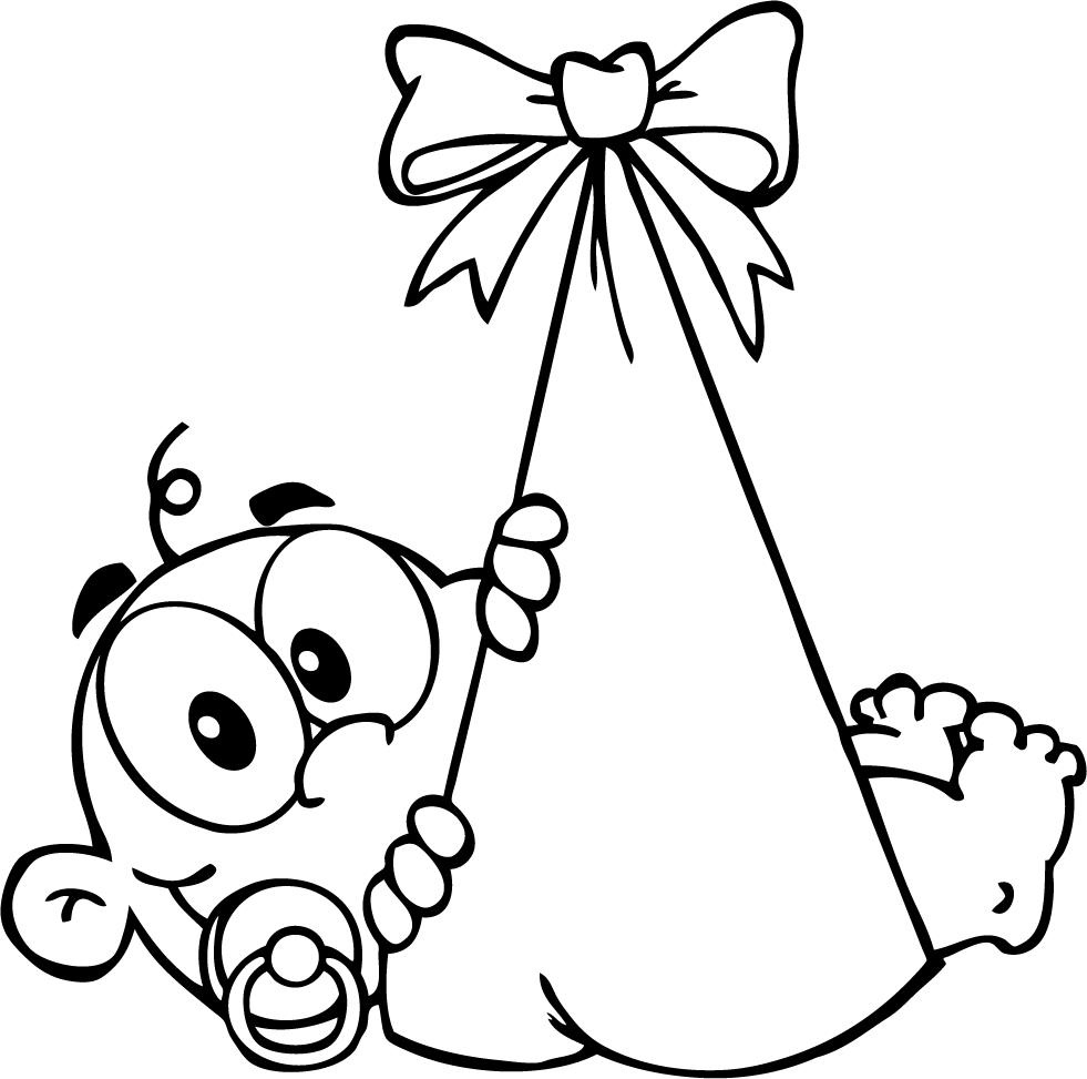 Free Baby Clipart Black And White, Download Free Clip Art.