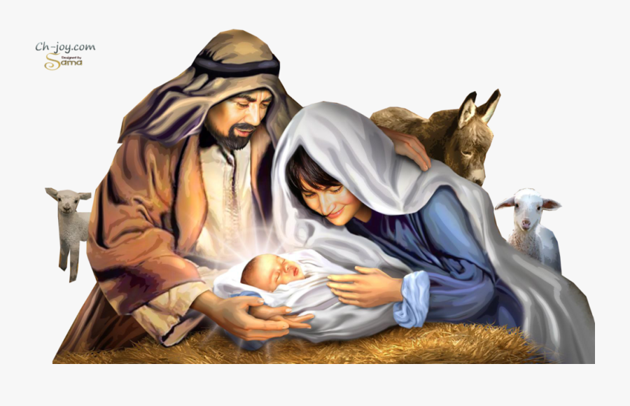 Birth Of Jesus Christ Png , Free Transparent Clipart.