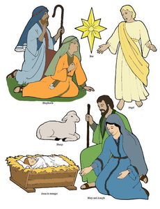 Jesus Christ Birth Clipart.