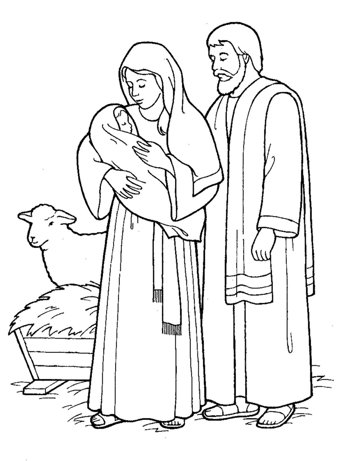 Jesus Came to Earth Nativity.