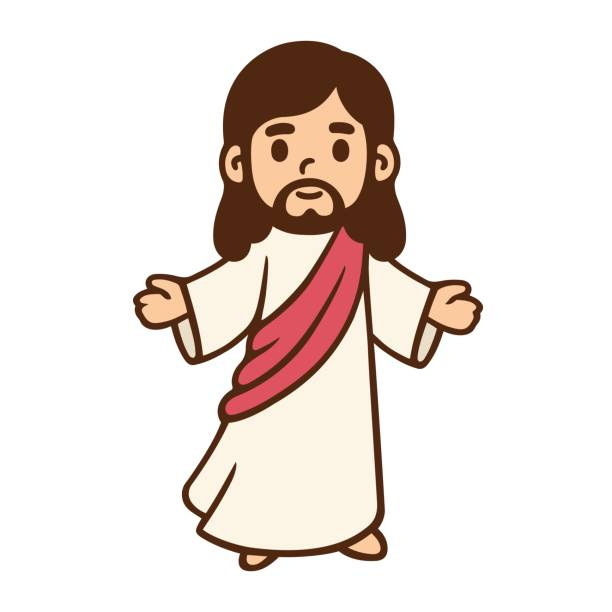 Best Jesus Christ Illustrations, Royalty.