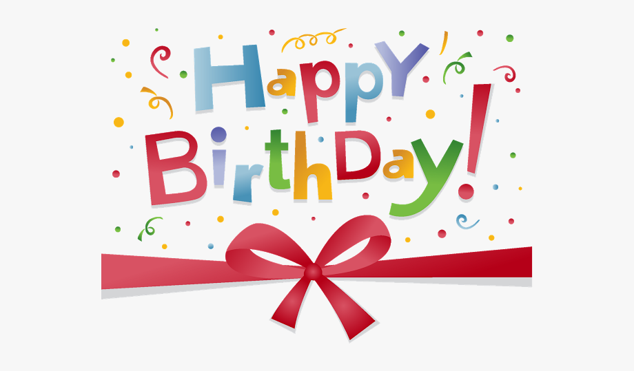 Free Happy Birthday Clipart For Facebook.