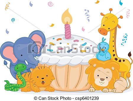Birthday Animals.