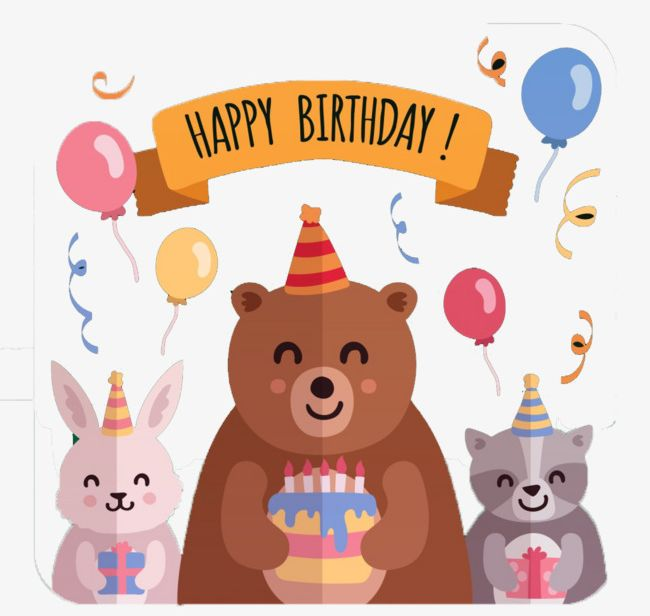 Animal Birthday Party PNG, Clipart, Animal Clipart, Animal Clipart.