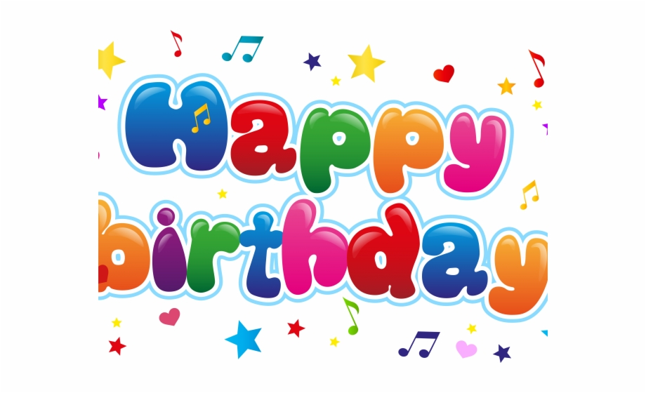 Happy Birthday Clipart Transparent Background Free PNG Images.