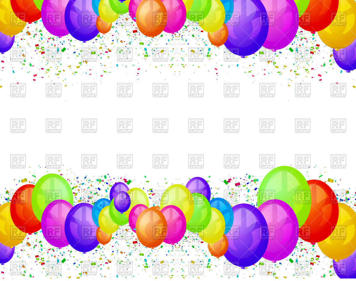 Balloons party.