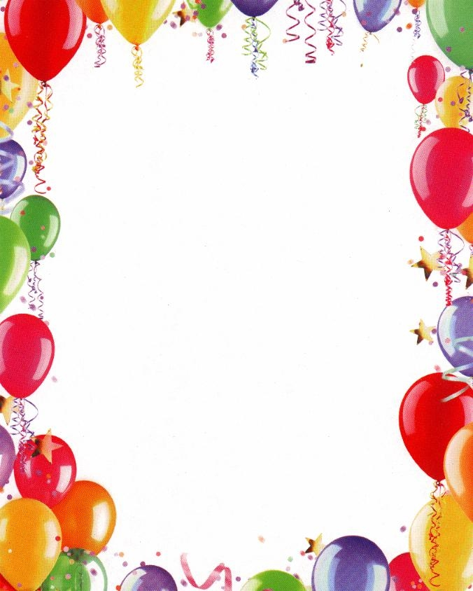 Birthday background clipart.