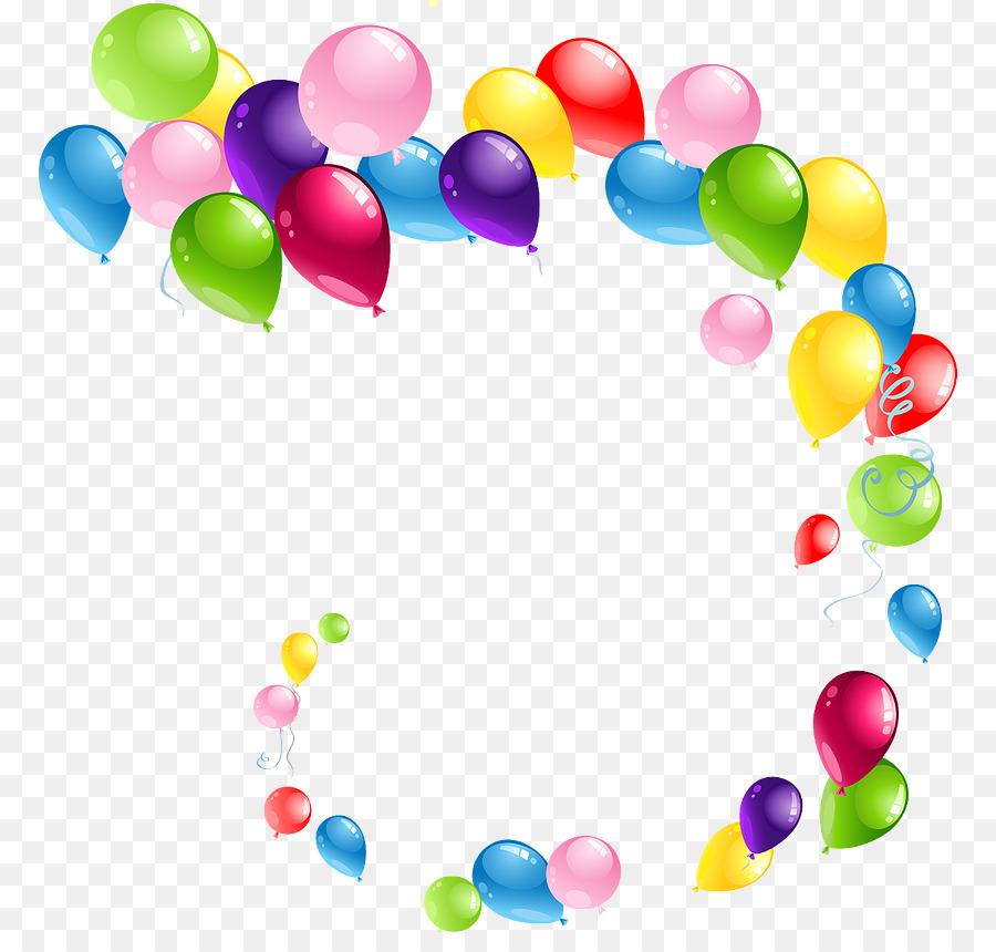 Balloon Portable Network Graphics Birthday Clip art Image.