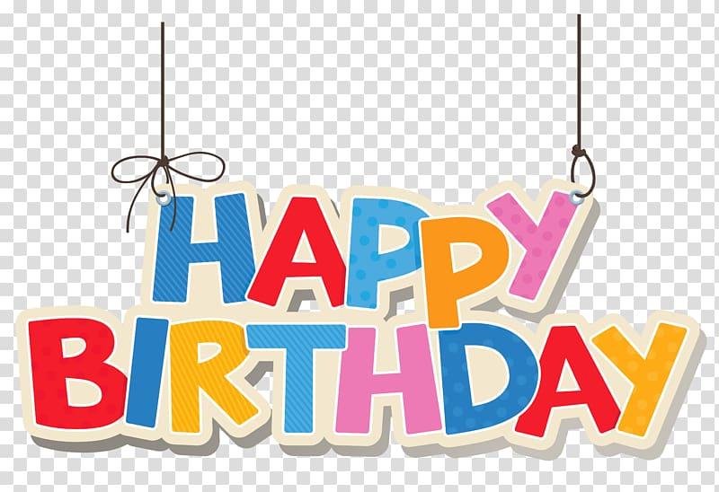 Birthday cake , Hanging Colorful Happy Birthday , Happy Birthday.