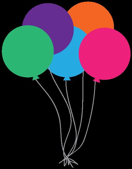 Best Birthday Balloons Clipart #27310.