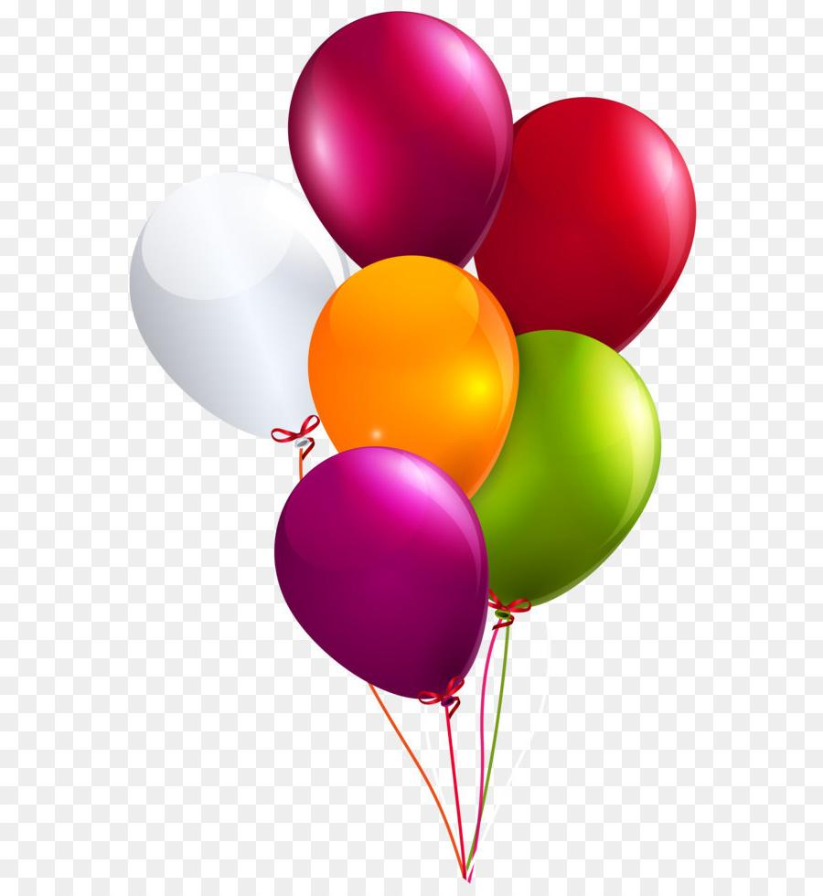 Best Free Birthday Balloons Clip Art Library » Free Vector.