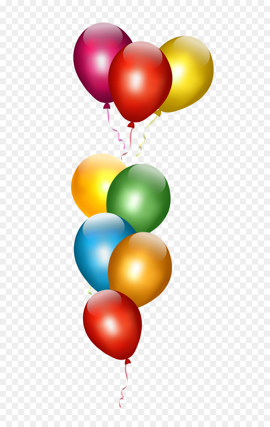 Birthday Balloon Party Clip art.