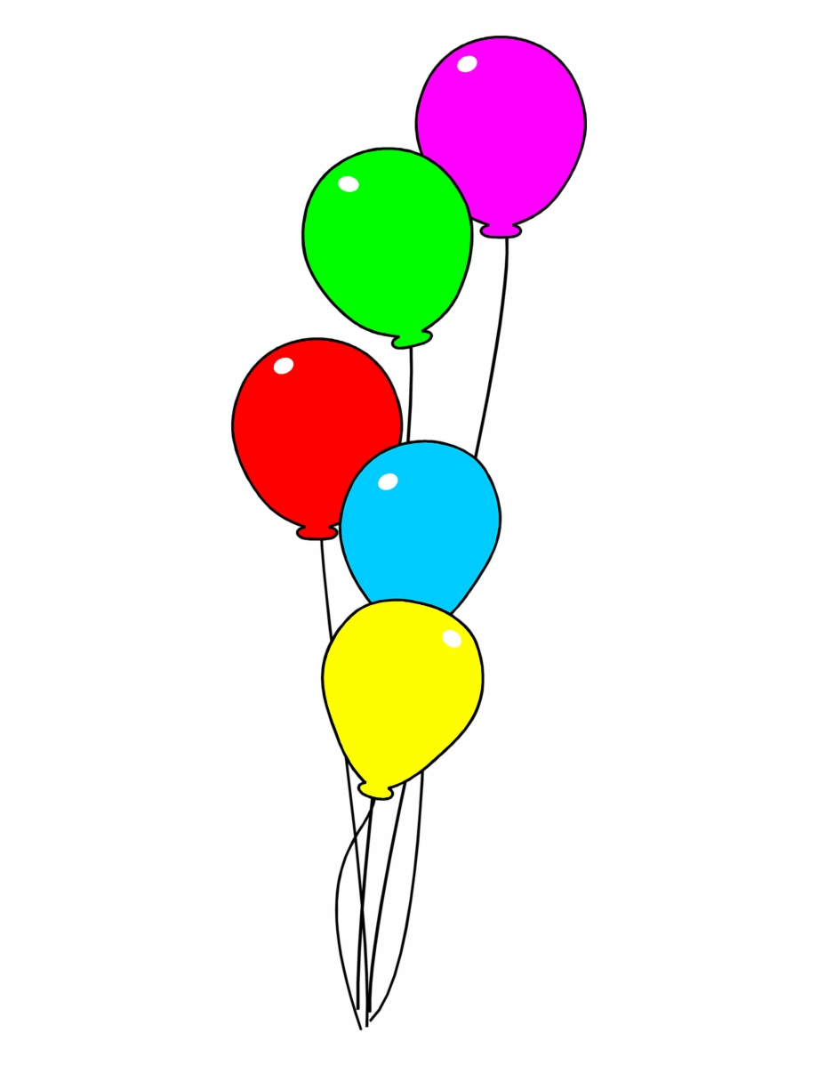 Happy Birthday Balloons Clip Art Images And Vector.