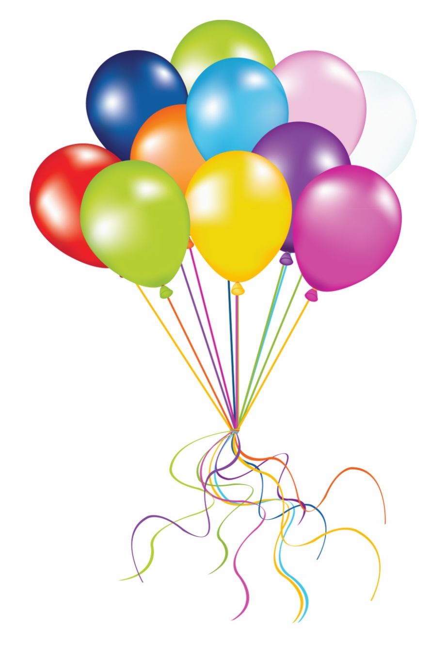 Party Balloons Png.