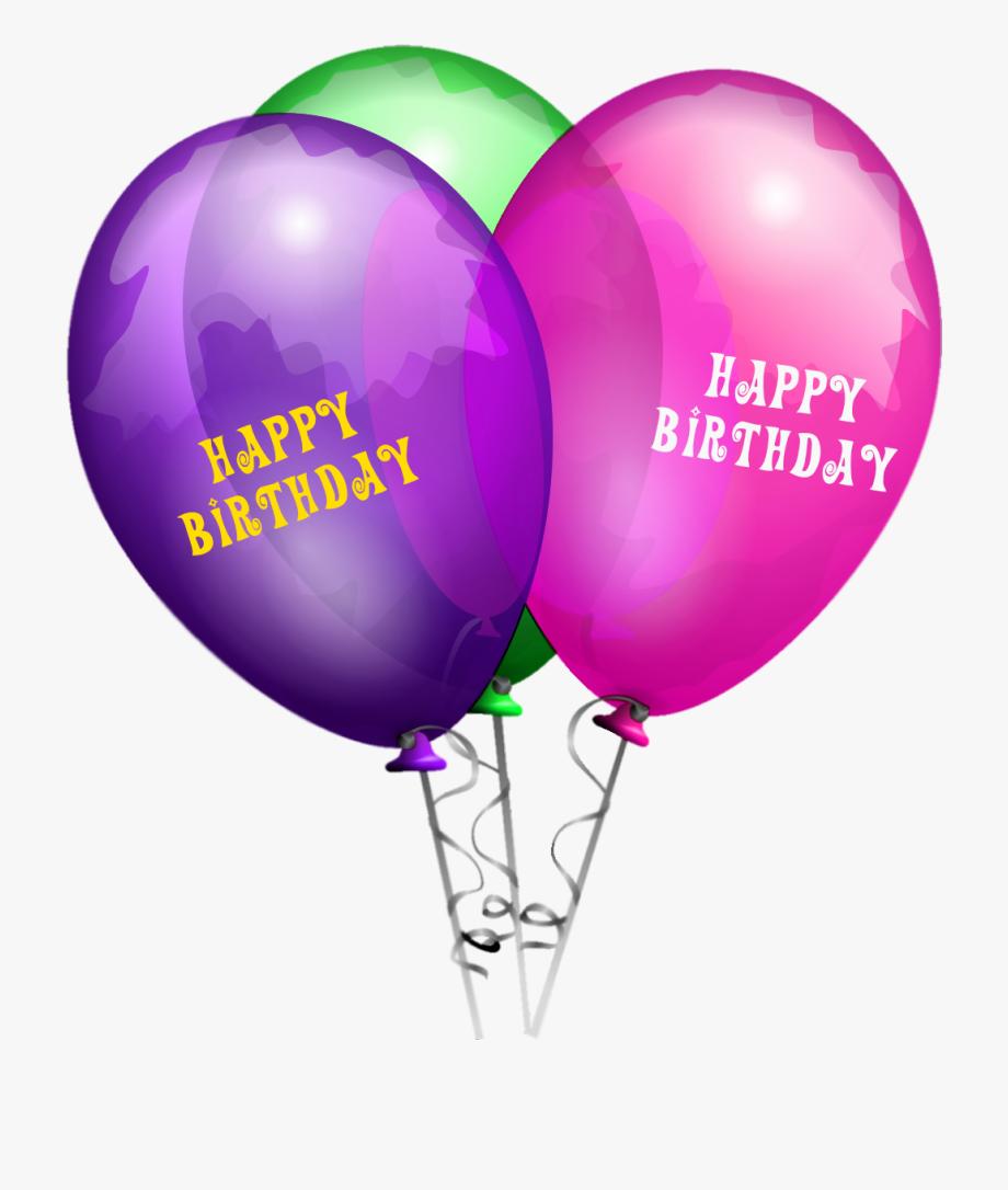 Balloons Png Happy Birthday.
