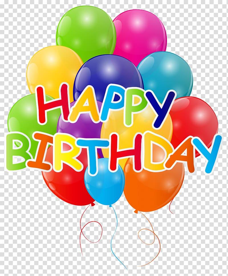 Birthday Balloon , Happy Birthday with Bunch of Balloons , happy.