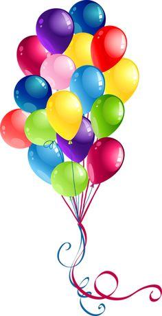 71+ Happy Birthday Balloons Clip Art.
