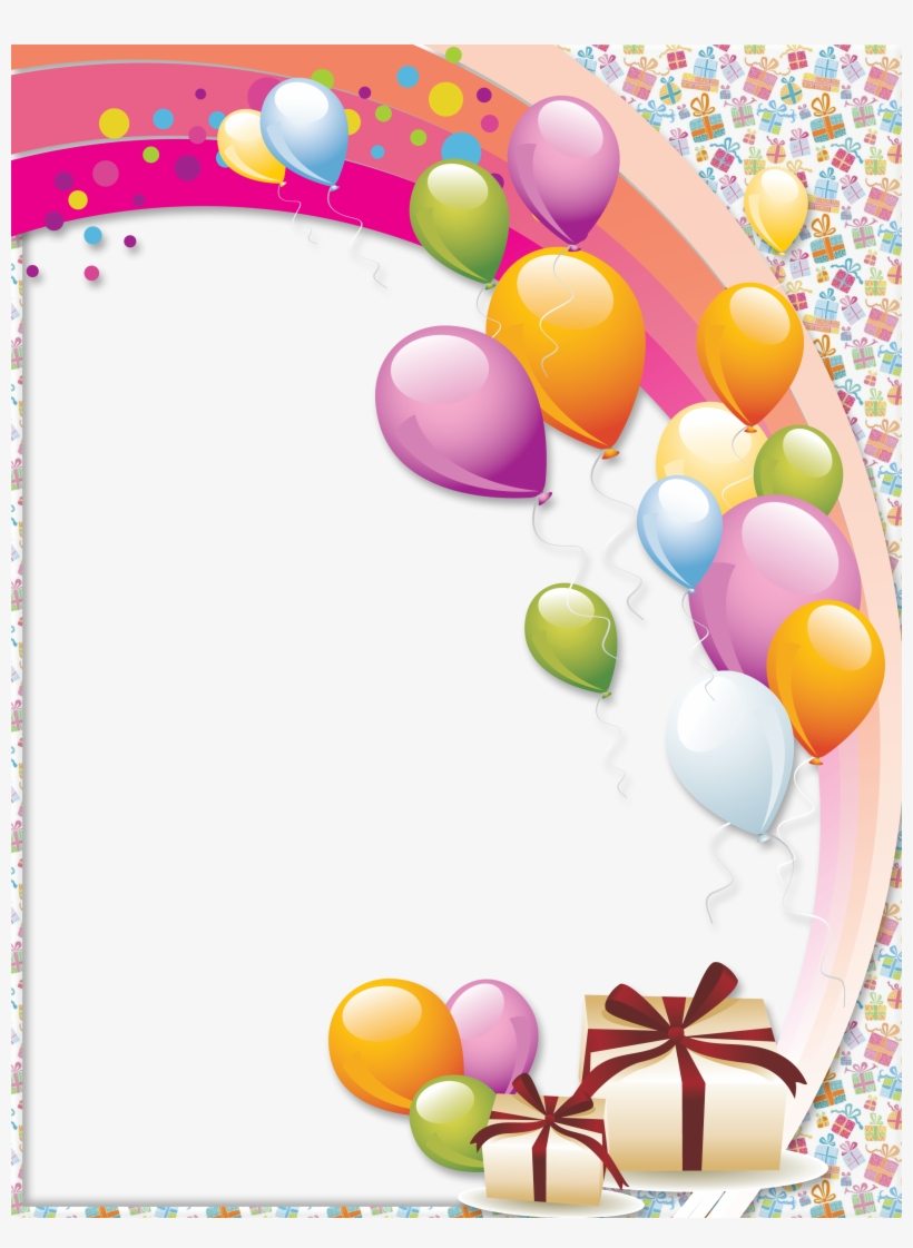 Happy Birthday Balloons Png Picture.