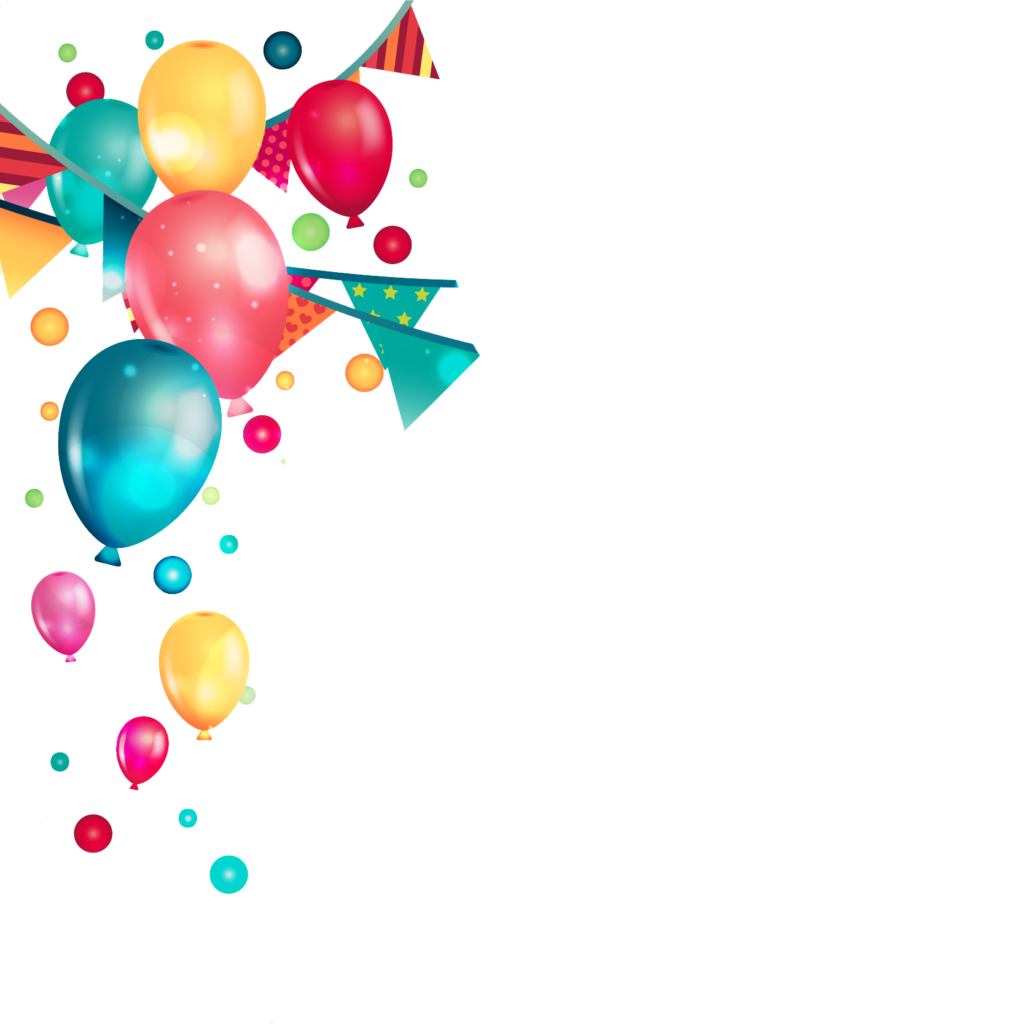 Birthday Party Balloons PNG #42787.
