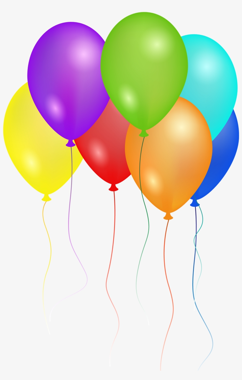Party Balloons Png (+).