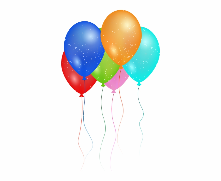 Birthday Party Balloon Png Image.