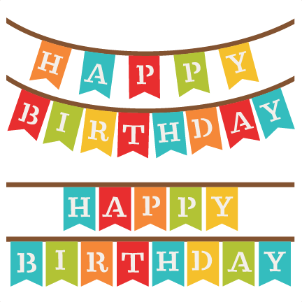 Happy birthday banner clipart 1 » Clipart Station.