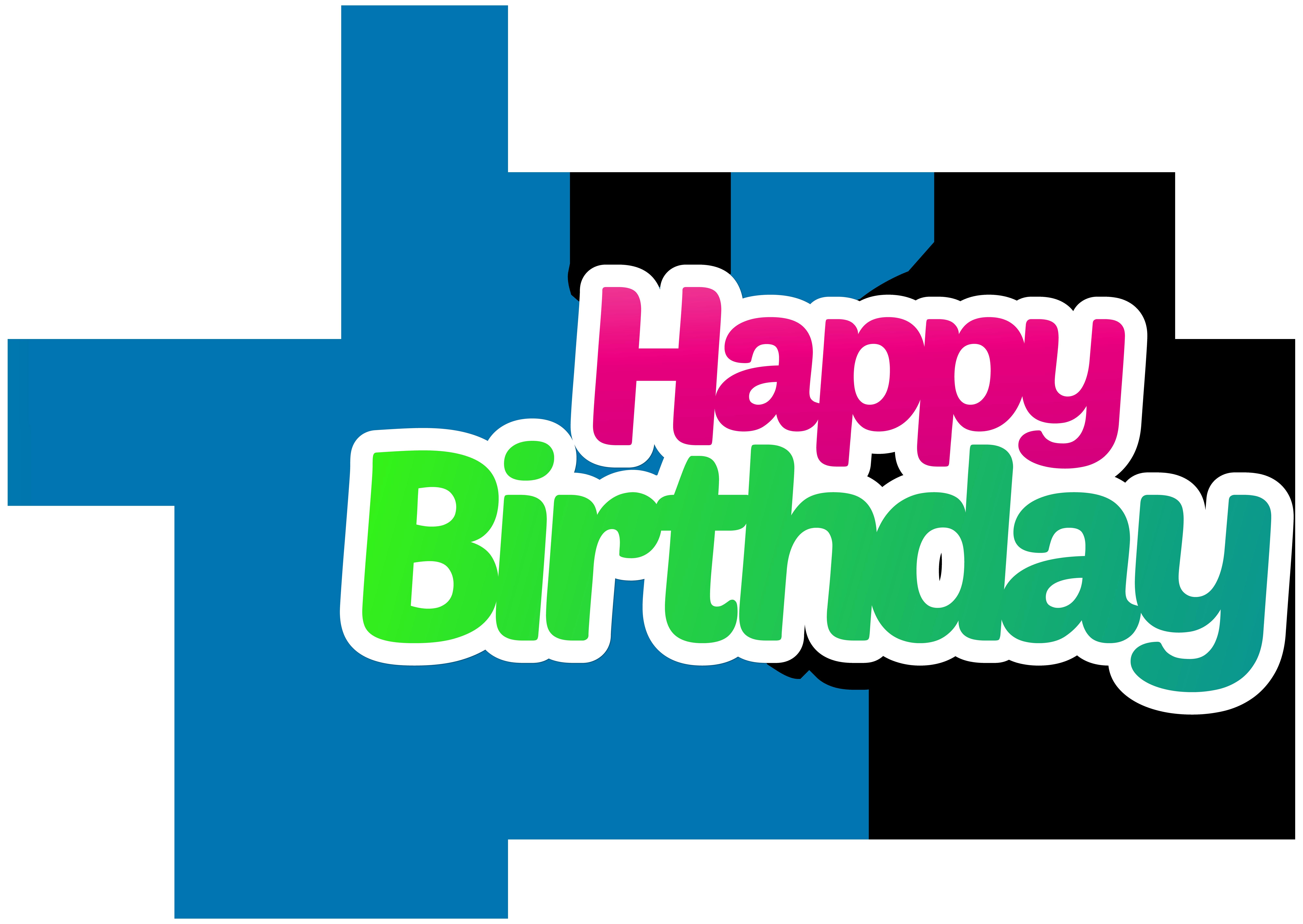 Birthday Wish Clip art.