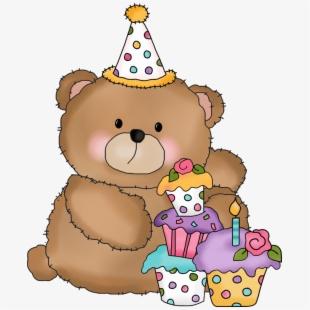 Teddy Bear Clipart Happy Birthday.
