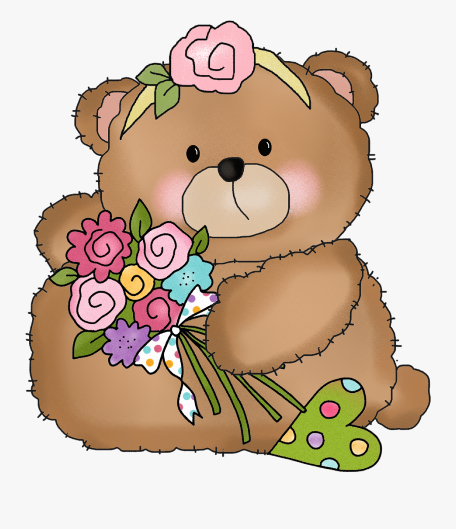 Teddy Bears Happy Birthday Clip Art , Png Download.
