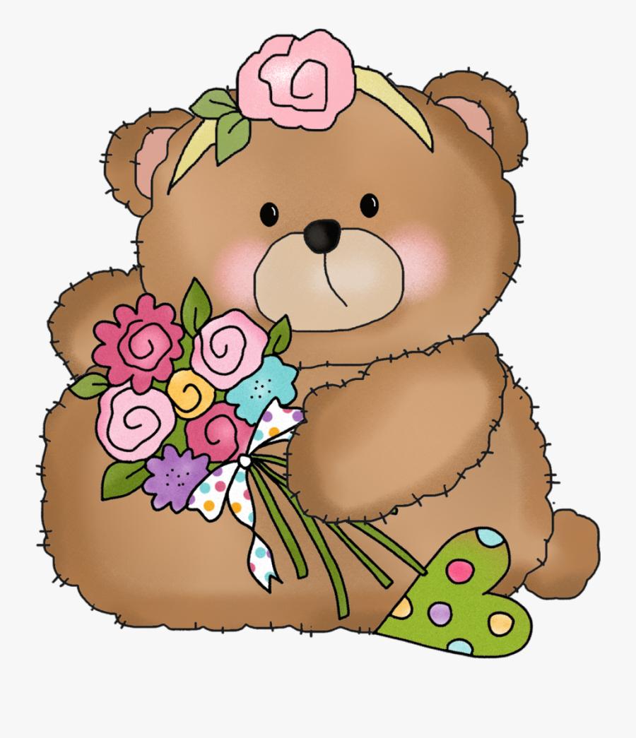 Teddy Bears Happy Birthday Clip Art , Png Download.