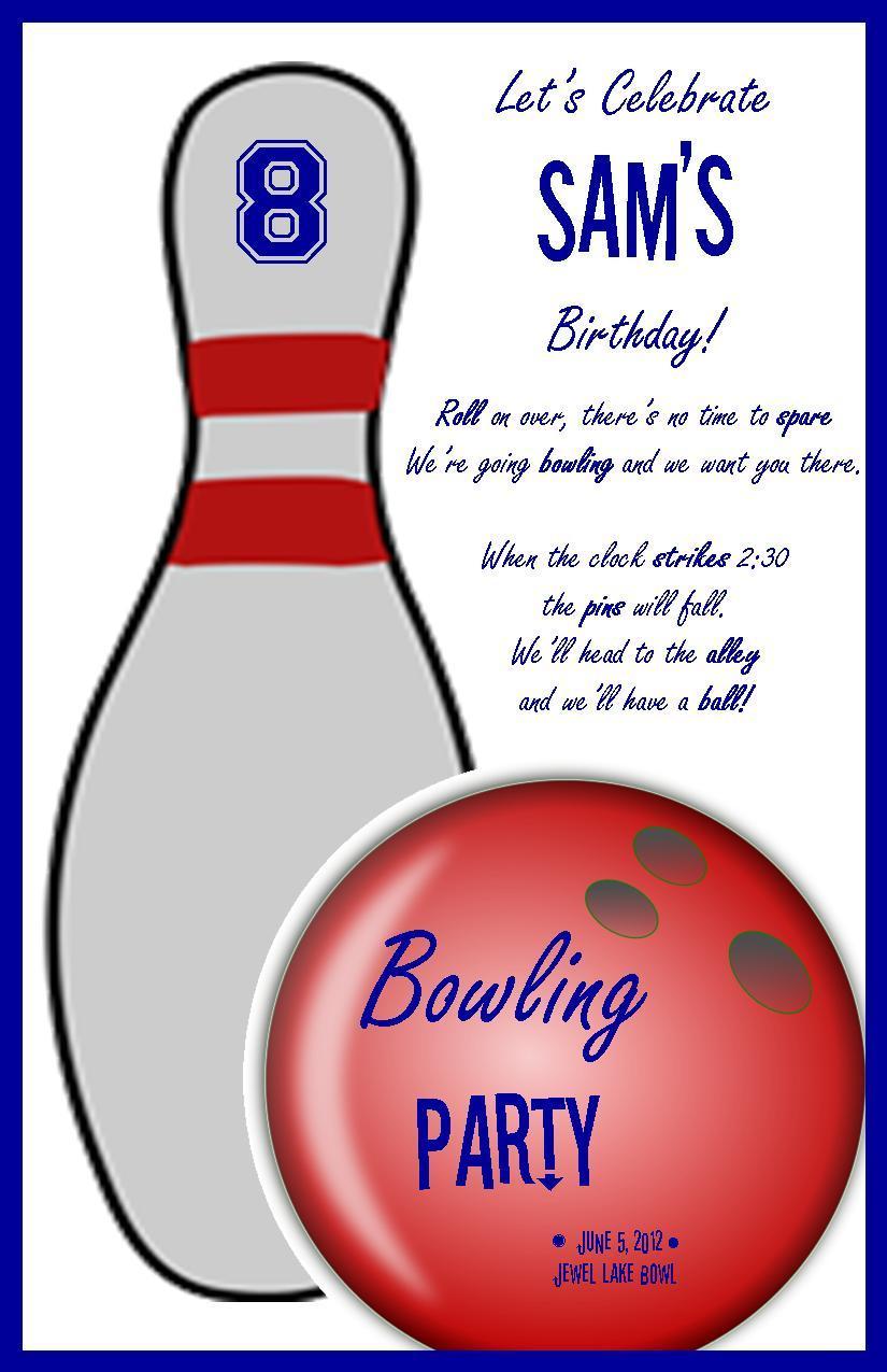 Bowling birthday clipart 3 » Clipart Portal.
