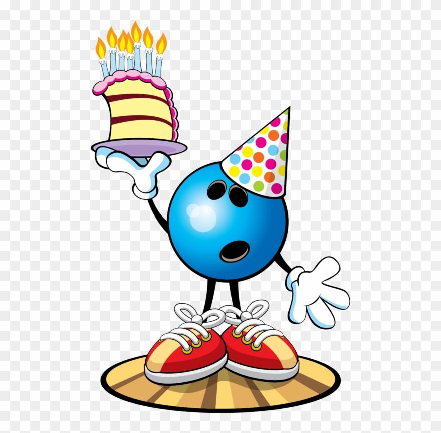 Happy Birthday Bowling Theme Clipart (#412177).