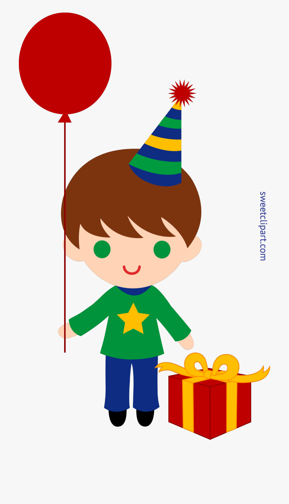 Good Birthday Boy Clip Art.