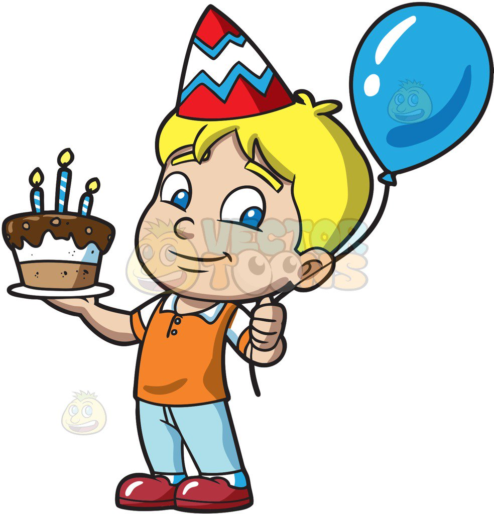 Birthday Boy Clipart.