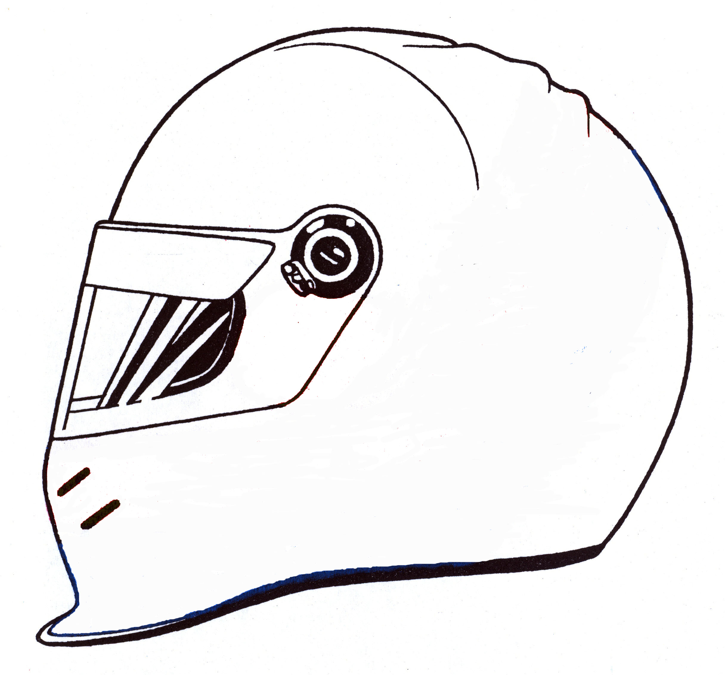 1759 Motorcycle free clipart.