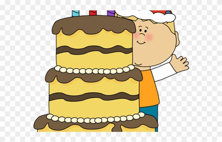 Boy Clipart Cake.