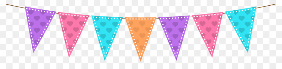Birthday Bunting clipart.