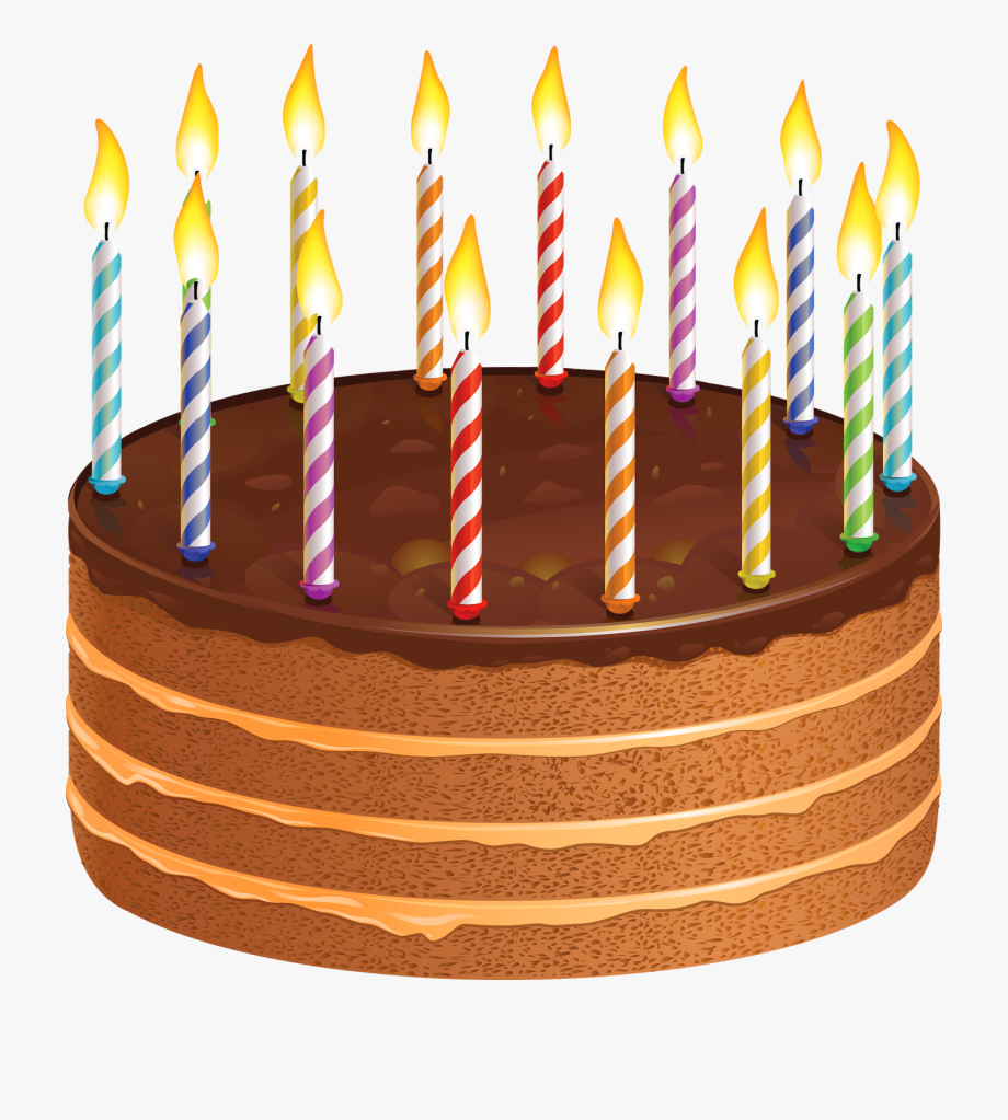 Candle Clipart Birthday Cake.