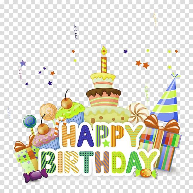Happy birthday , Birthday cake Ice cream cake , happy,birthday.