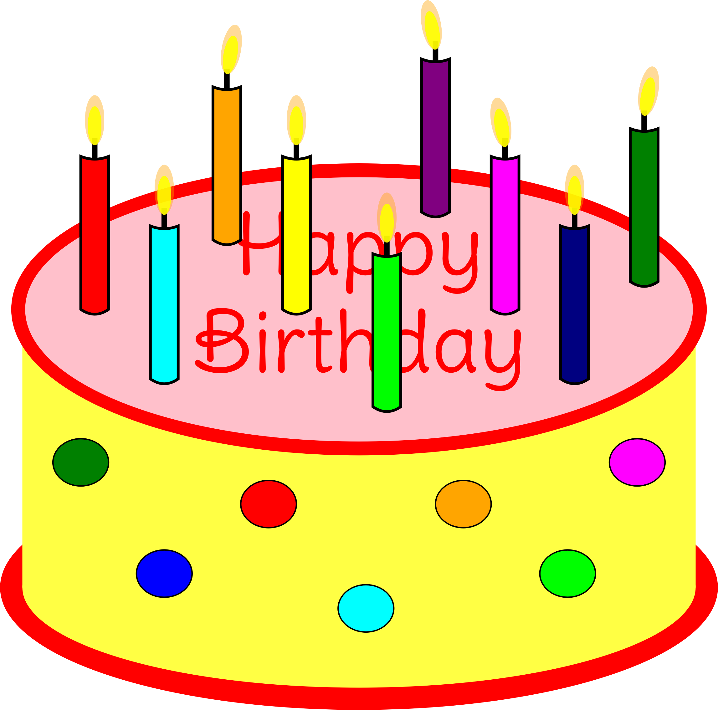 Birthday cake clipart animated 4 » Clipart Station.