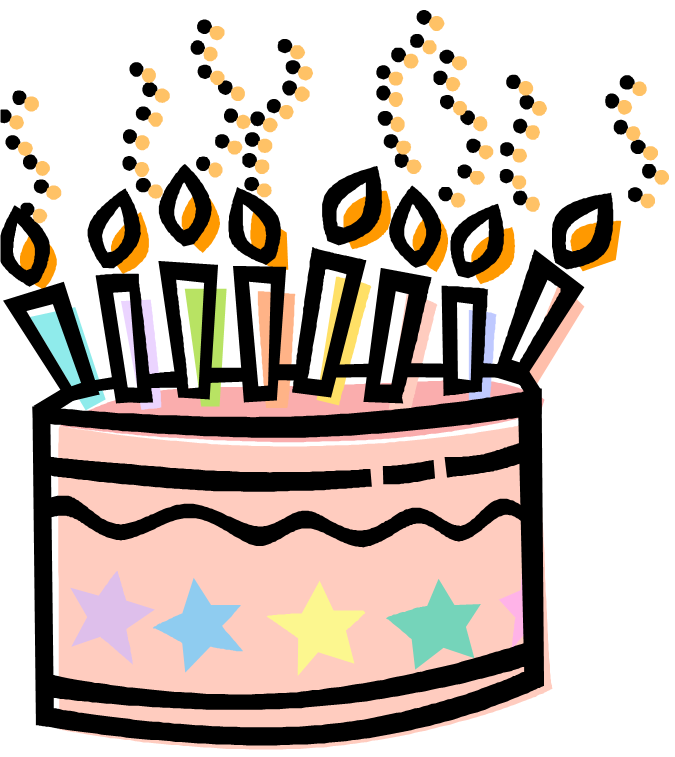 Free Happy Birthday Cake Clipart, Download Free Clip Art, Free Clip.