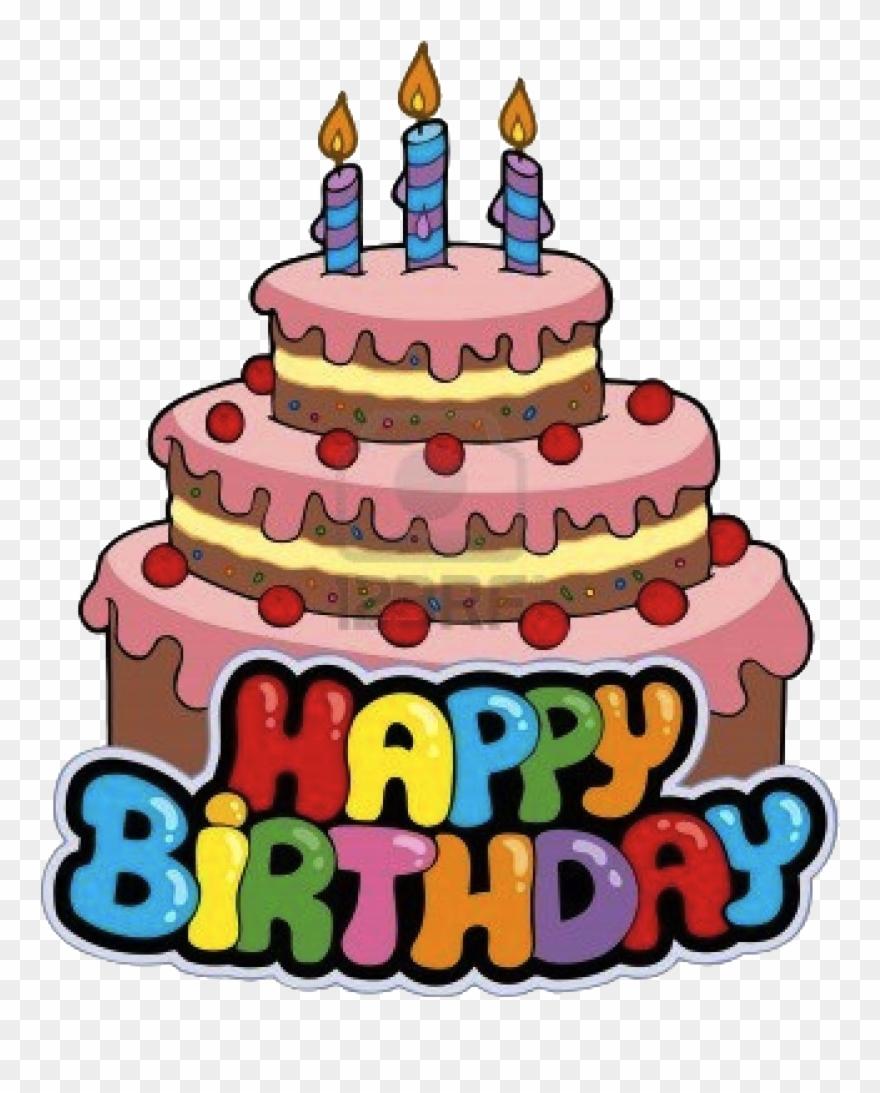 Art Cake Birthday Clip