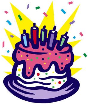clipart birthday cake #3