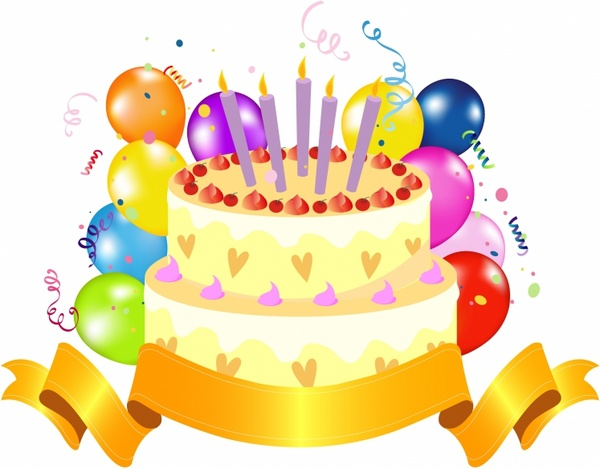 Happy birthday cake clipart free vector download (8,724 Free.
